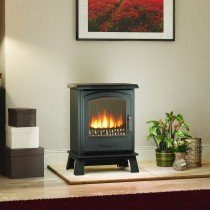 Broseley Fires Hereford 5 Electric Stove, Black