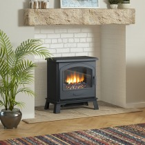 Broseley Fires Hereford 7 Electric Stove, Black