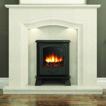 Broseley Fires Hereford Inset Electric Stove, Black