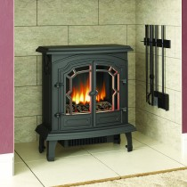 Broseley Fires Lincoln Electric Stove, Black