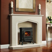 Broseley Fires York Electric Stove, Black