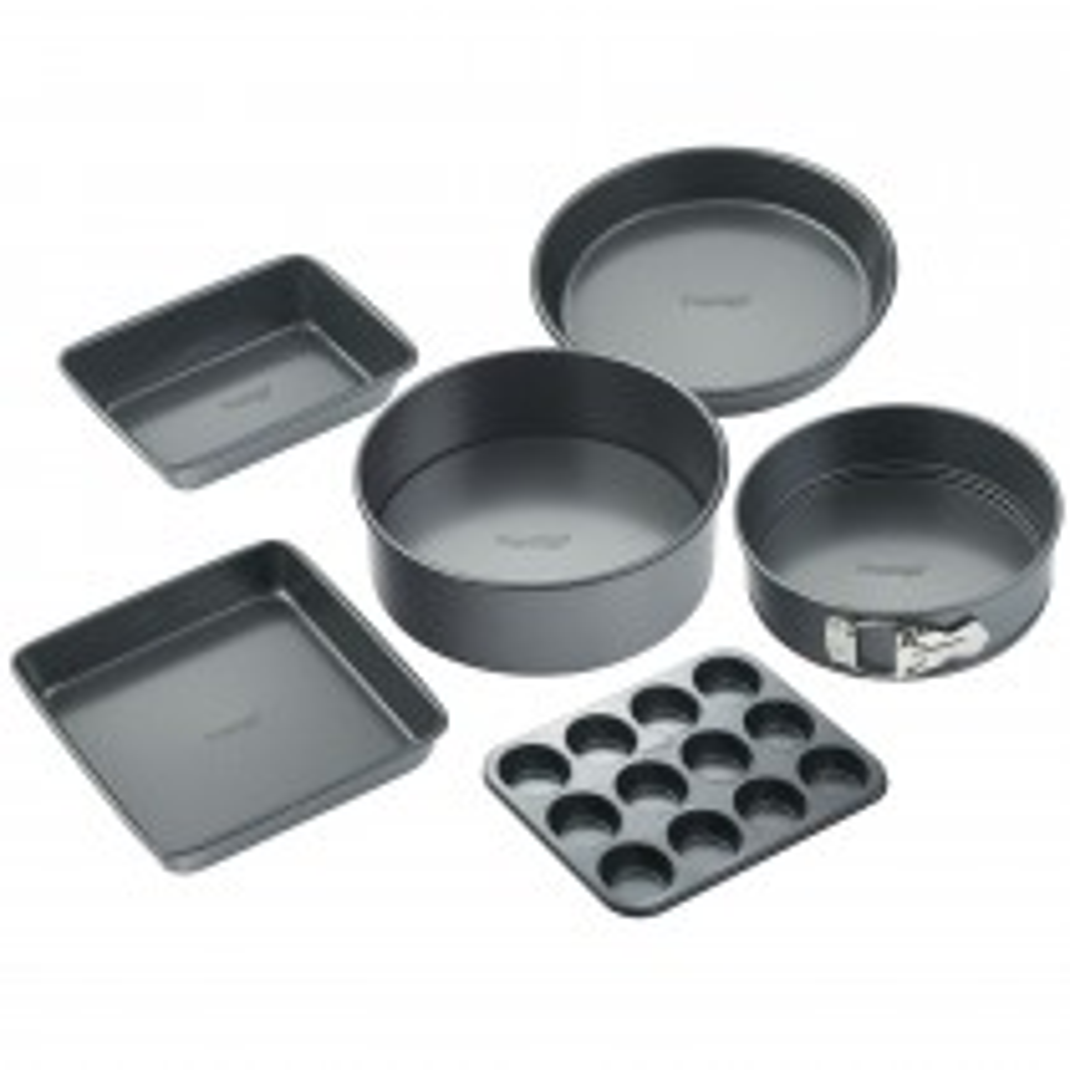 Prestige 6 Piece Baking Set, Black