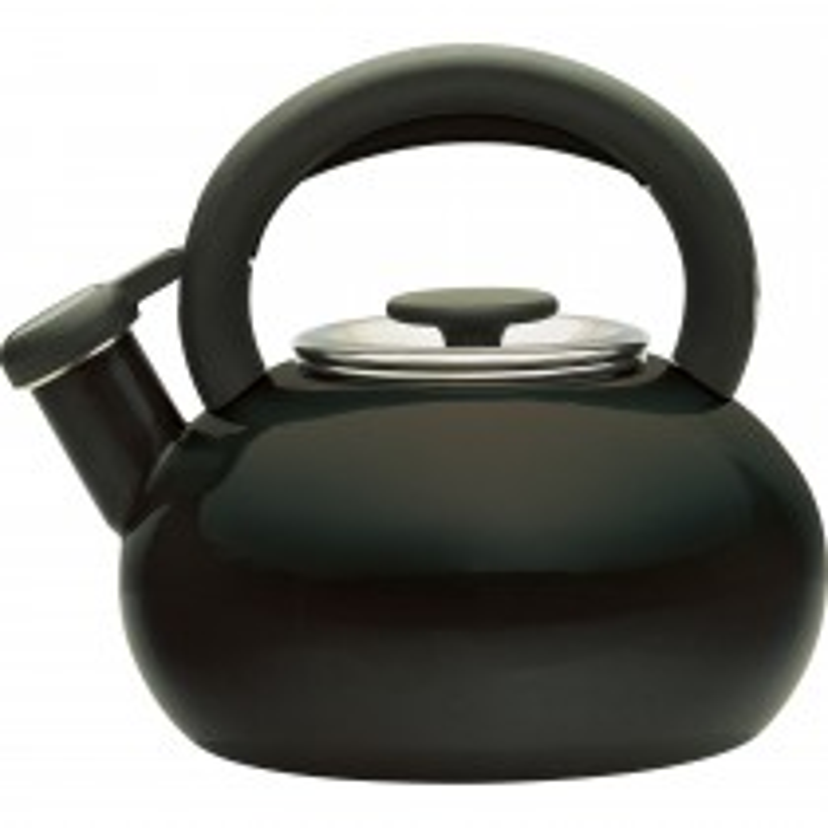 Prestige Whistling 1.4L Stove Top Kettle, Black