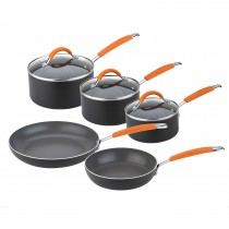 Joe Wicks 5 Piece Saucepan Set, Aluminium