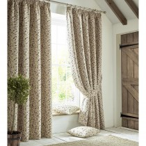 Ashley Wilde Penny Lined Curtain, Mulberry