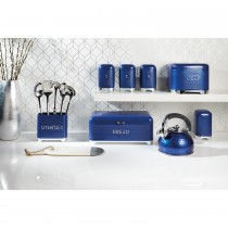 Kitchencraft Lovello Coffee Cannister, Blue
