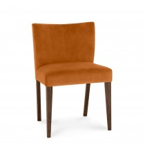 Casa Toledo Low Back Upholstered Chair, Pumpkin