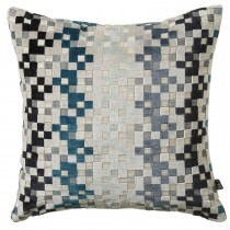 Scatterbox Puzzle Cushion, 43cm x 43cm, Teal