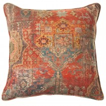 Scatterbox Kabash Cushion, 43cm x 43cm, Terracotta