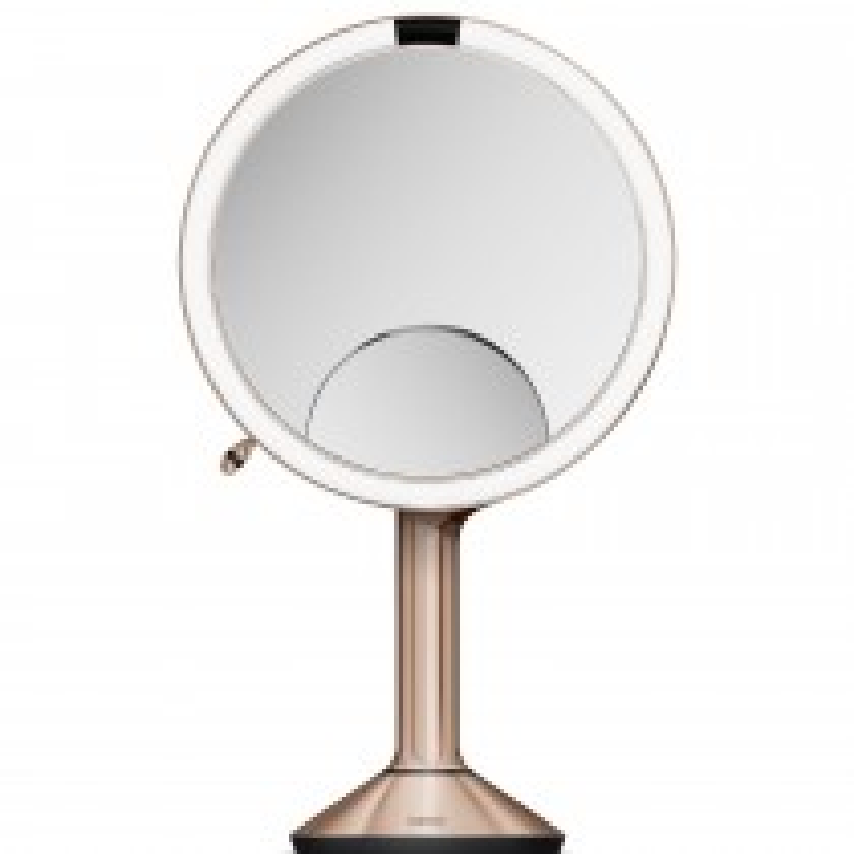 Simplehuman 20cm Sensor Mirror Trio, Rose Gold