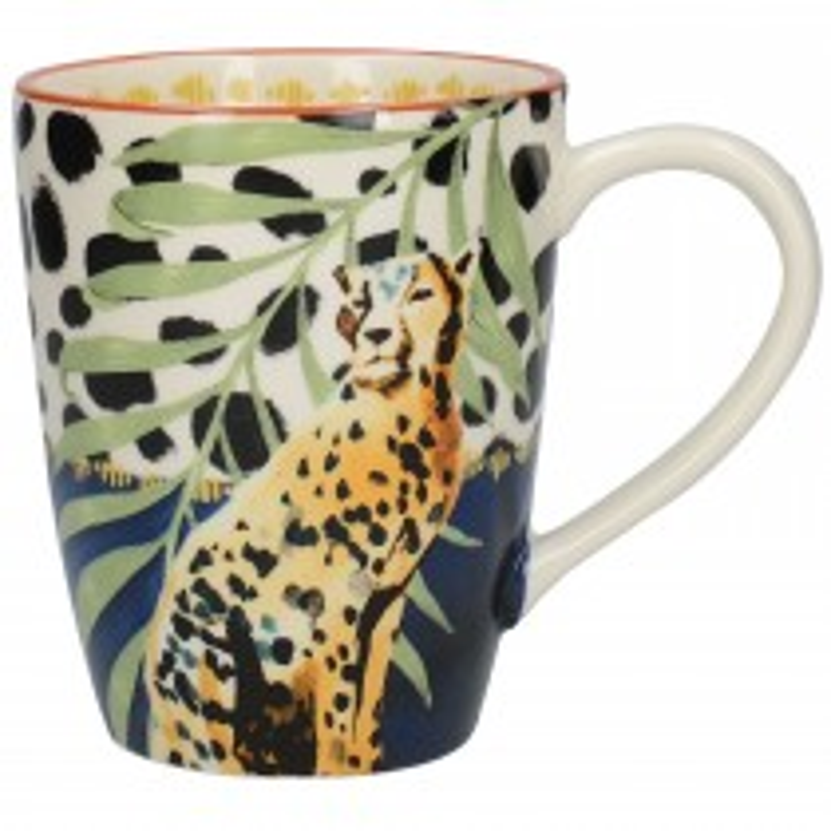 Mikasa Drift Bullet Mug, Cheetah