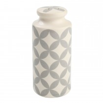 T&G Woodware City Circle Salt Shaker, Grey