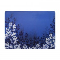 Denby Placemats, Set of 6, Blue Foliage