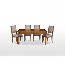 Rochford Extending Table & 6 Chairs Dining Set