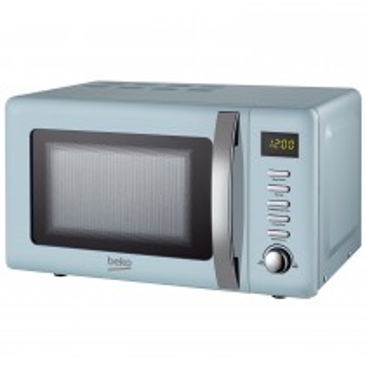 Beko 800w Retro Microwave 20l, Mint