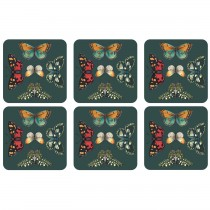 Portmeirion Botanic Garden Harmony Coasters Set Of 6, Asstd
