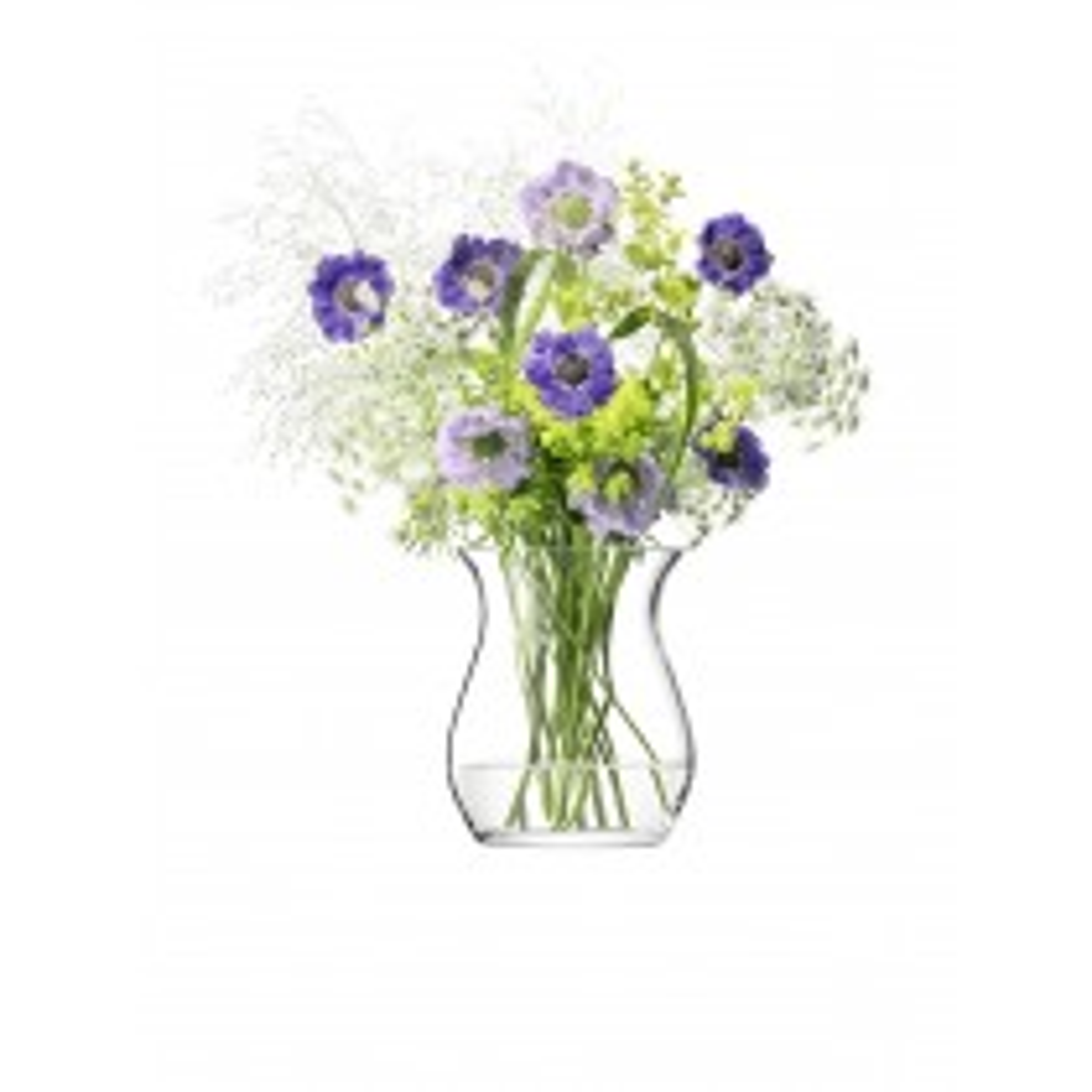 LSA Flower Open Posy Vase 23cm