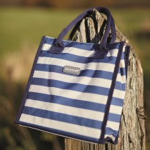 Kitchencraft Lulworth Tote Picnic Cool Bag, Stripe