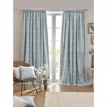 Belfield Juliette Tape Curtain, 112cm x 137cm, Eau De Nil