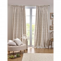 Belfield Juliette Tape Curtain, 112cm x 137cm, Linen