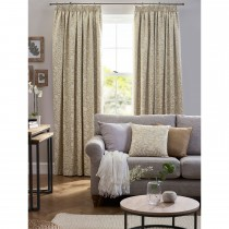 Belfield Eleanor Tape Curtain, 112cm x 137cm, Ochre