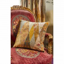 The Château By Angel Strawbridge Wallpaper Museum Piped Cushion, 43cm x 43cm, M