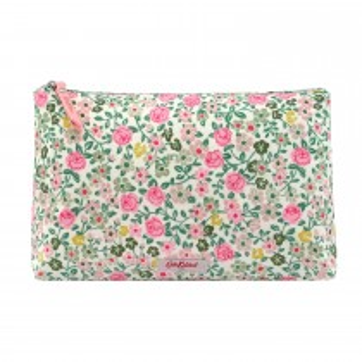 Cath Kidston Matt Zip Cosmetic Bag, Warm Cream