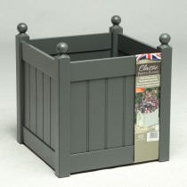 AFK Classic Square Planter 460, Charcoal