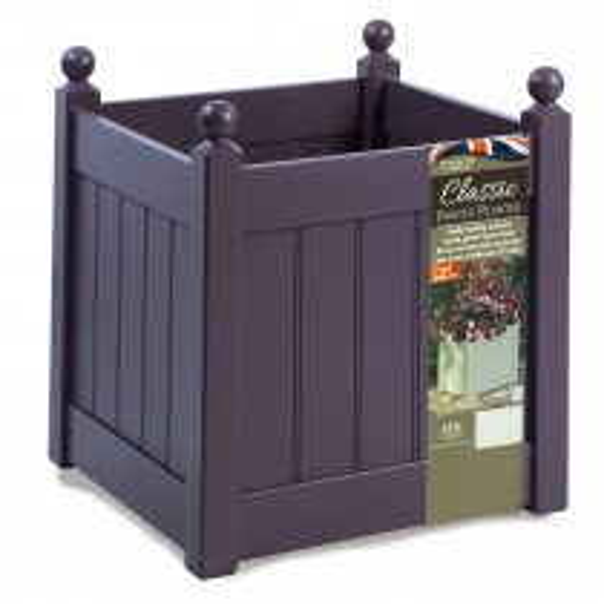 AFK Classic Square Planter 460, Lavender