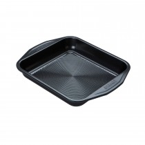 "Circulon Square Cake Tin - 9"", Black"