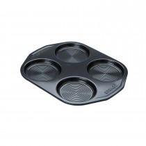 Circulon Yorkshire Pudding Tin, Black