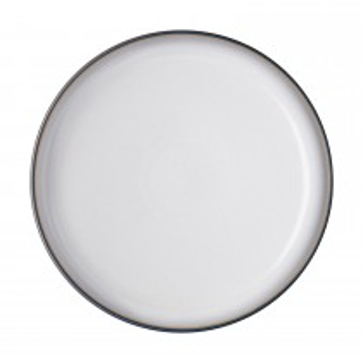 Denby Studio Grey Medium Plate, White
