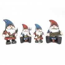 Woodlodge Metal Garden Gnome Large
