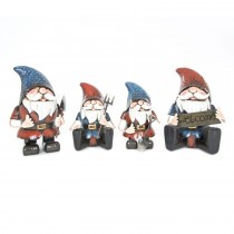 Woodlodge Metal Garden Gnome Small