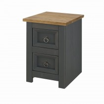 Core Products Connor Carbon 2drw Bedside 2 Draw
