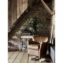 Alexander & James Percy Chair, Brown