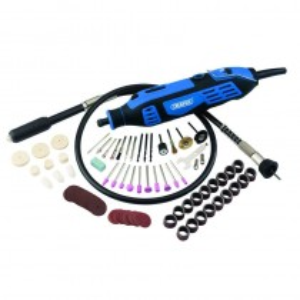 Draper Rotary Multi Tool Kit 113 Piece