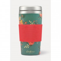 Cath Kidston Travel Cup Kingswood Rose, Teal