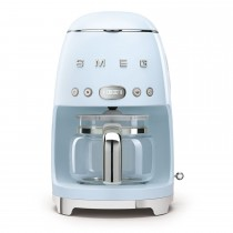 Smeg DCF02PBUK Retro Style Coffee Machine, Pastel Blue
