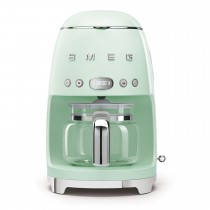 Smeg DCF02PGUK Retro Style Coffee Machine, Pastel Green