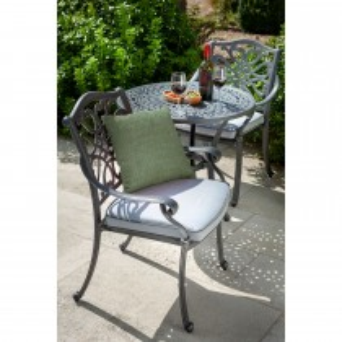 Hartman Spare Capri Dining Chair, Grey/ Platinum