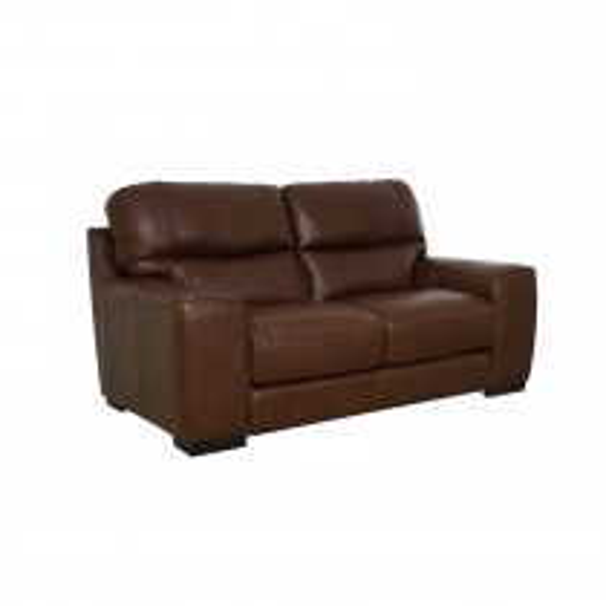 Italia Living Prato 2 Seater Leather Sofa, Brown