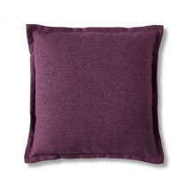 Gallery 2 Tone Plain Cushion Berry, Berry