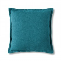 Gallery 2 Tone Plain Cushion Blue, Blue