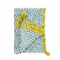 Bluebellgray Cotswold Throw, Harbour Grey
