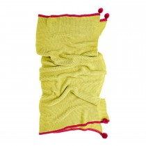 Bluebellgray Cotswold Throw, Lime