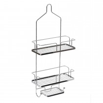 Showerdrape Esquire Hanging Caddy, Chrome