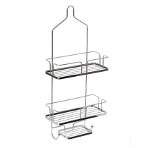 Showerdrape Esquire Shower Caddy, Chrome