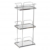 Showerdrape Esquire Floor Caddy, Chrome