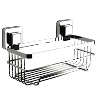 Showerdrape Pushloc Bottle Basket, Chrome